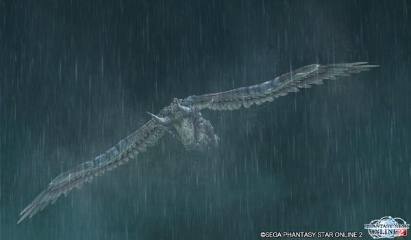 雷雨の中飛来するは