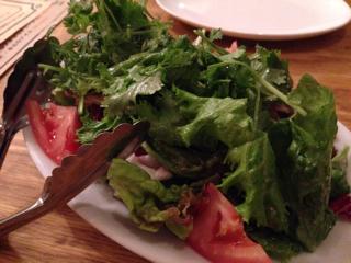 お肉とパクチーたっぷり 煮ジルサラダ(ハーフ)
