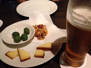 燻製チーズ・燻製グリーンオリーブ・燻製ミックスナッツ