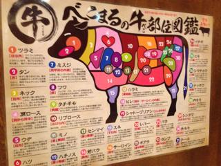 牛の部位図鑑