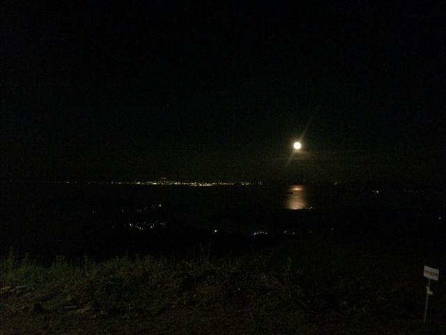 赤水公園 月