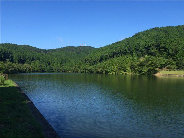 赤水公園 池