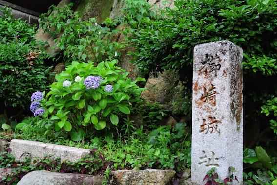 櫛崎城趾石垣