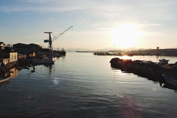 竹ノ子島橋から