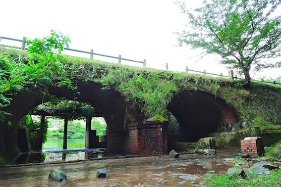 内日第一貯水池眼鏡橋