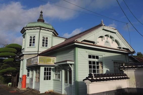 旧殿居郵便局舎