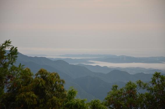華山の雲海