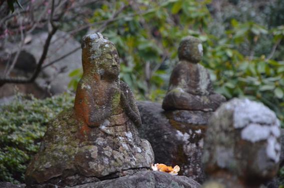 岩谷の十三仏