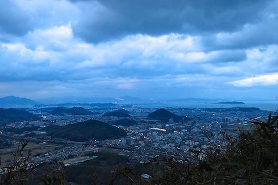 青山山頂からの眺望