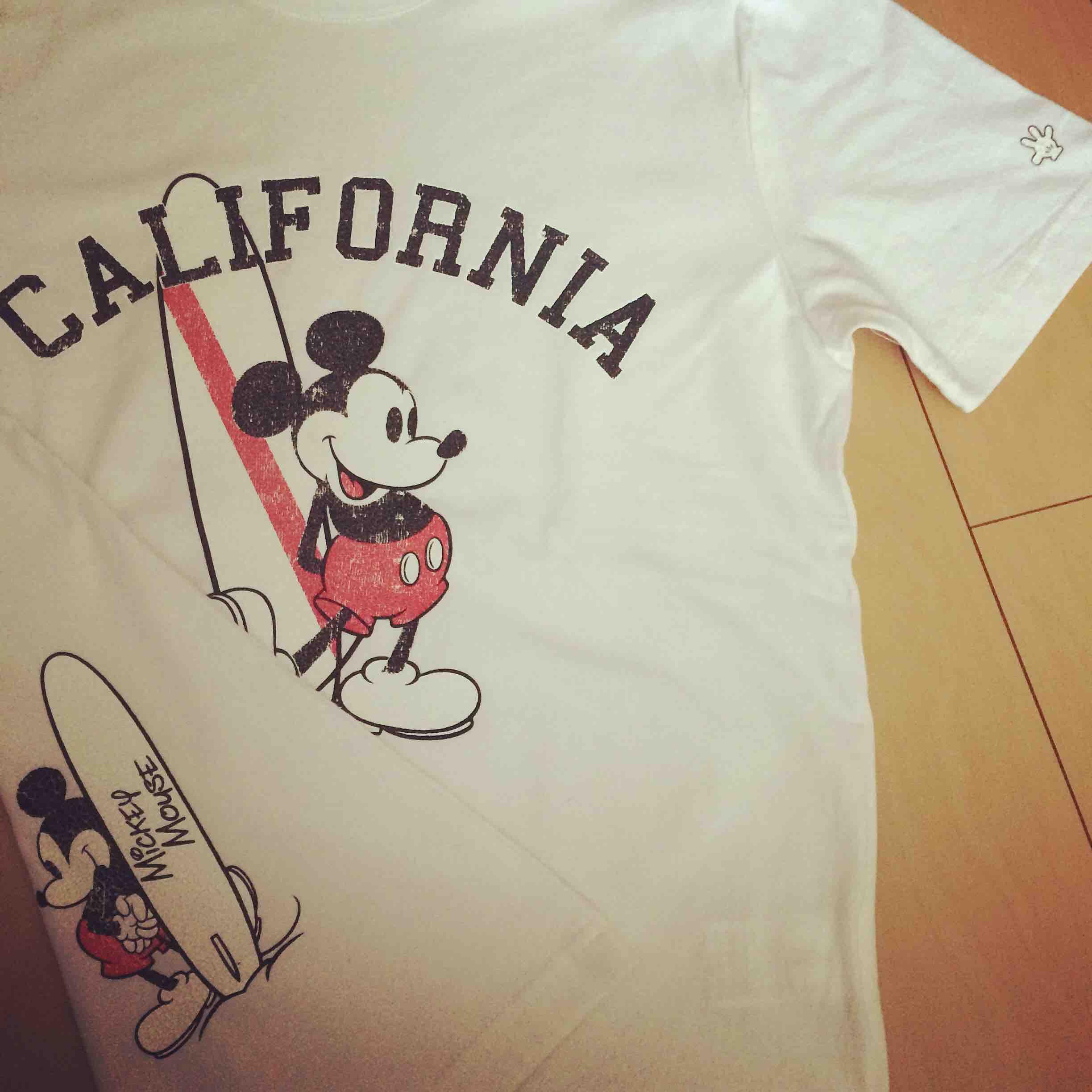 GROBALWORK Tシャツ ミッキー グローバルワーク メンズ