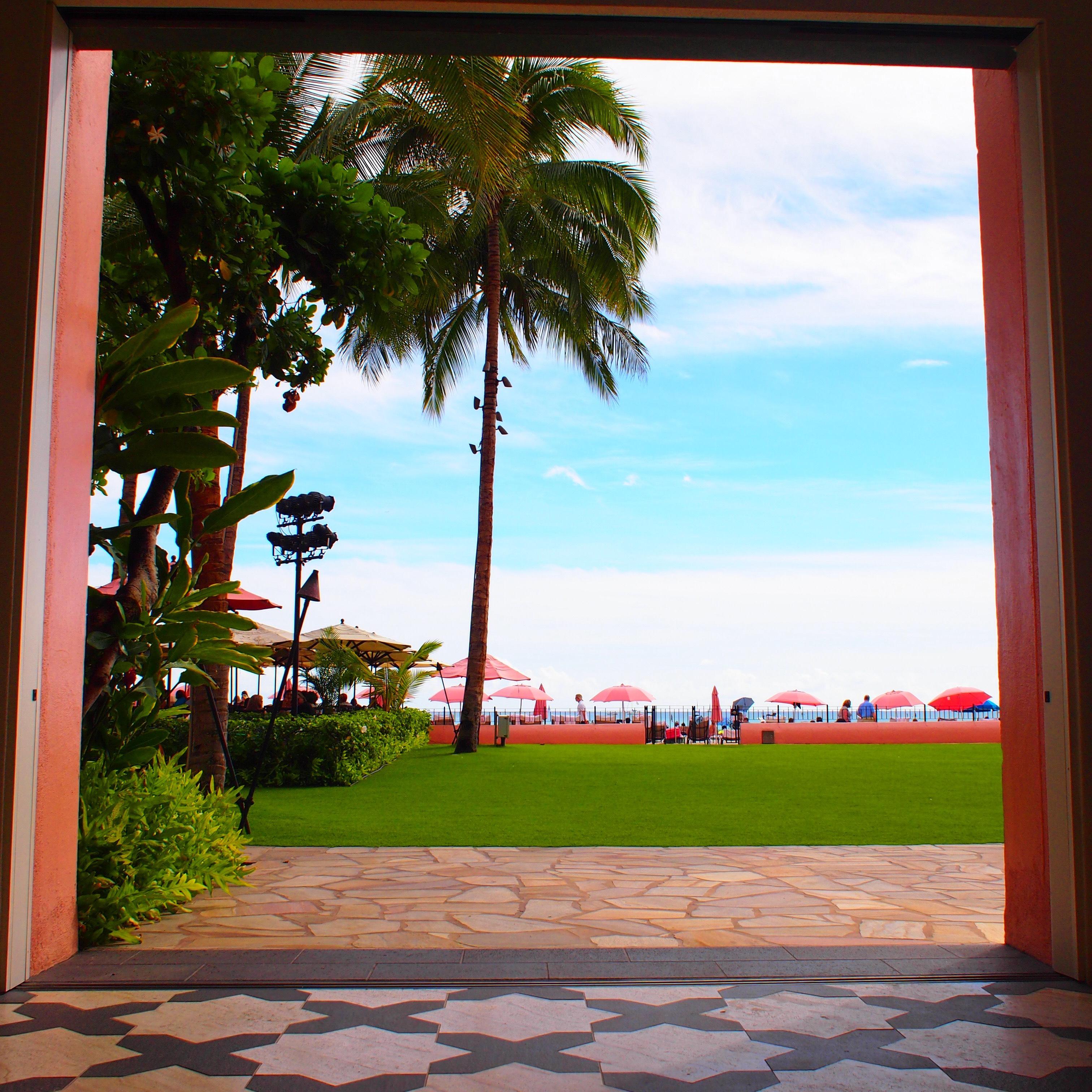 ハワイ ロイヤルハワイアンホテル