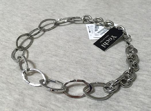 「23区」にて、大きめチェーンのネックレスを買いました