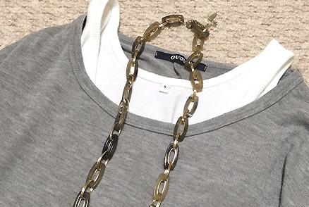 このネックレスもプチプラ~
