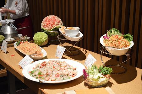 タイの夕べin京都 サラダ