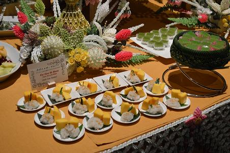 タイの夕べin京都 デザート
