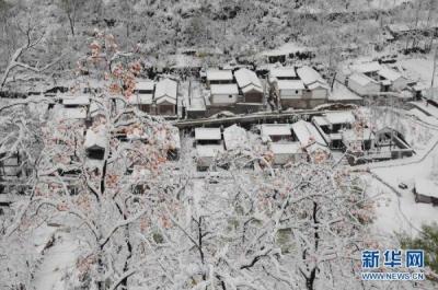 延慶県の雪2
