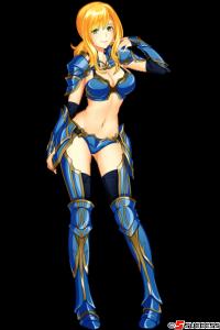 青鎧セクシー戦士