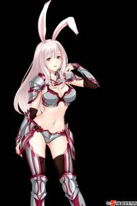 白兎女戦士