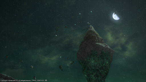 新生14 517日目 綺麗な夜空を見ながらおはようにゃ♪