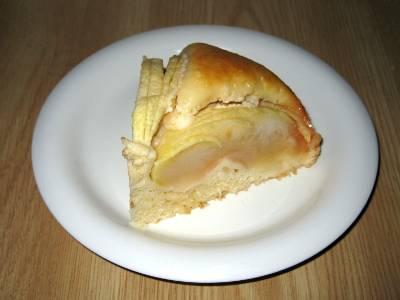 焼きりんごのケーキ カット