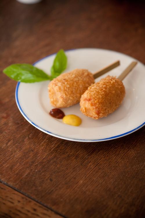 魚肉ソーセージフライ2