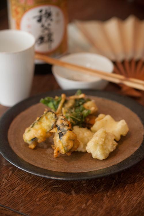 夏野菜の天ぷら2