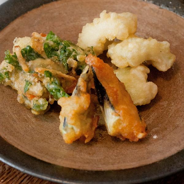 夏野菜の天ぷら3