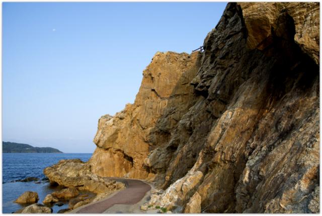 青森県 観光 深浦町 大岩海岸 自然 写真