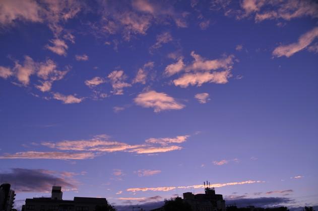 ある夏の日の青空