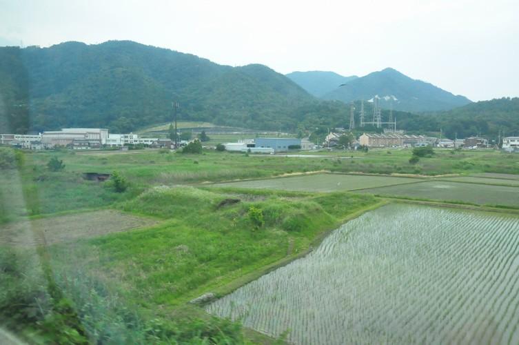 旧江若鉄道築堤跡