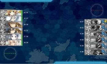 3-2 北方一水戦任務ボス戦夜戦終了