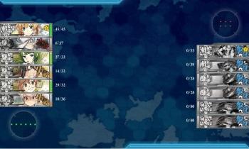 3-2 北方一水戦任務2ボス戦夜戦終了