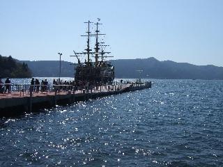海賊船の入港_H22.05.01撮影