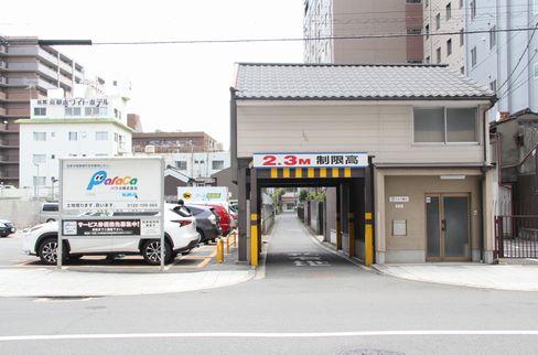 京都ホワイトホテルへの路地_H27.06.06撮影