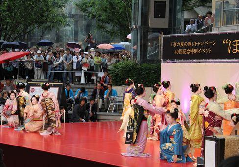 芸舞妓のステージ_H27.06.21撮影