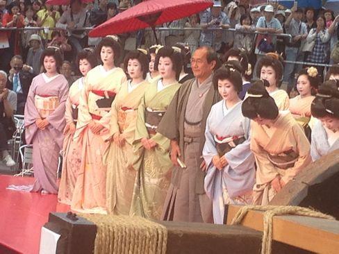 京都市長と芸舞妓のグランドフィナーレ_H27.06.21撮影