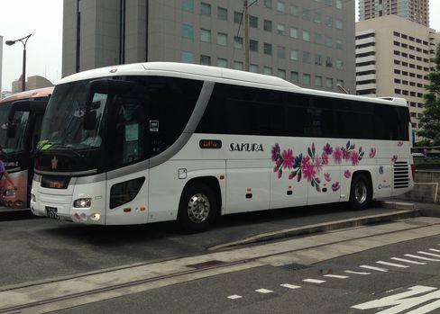 さくら高速バス OTIM36便_H27.07.07撮影
