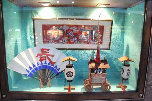 ミニュチュア長刀鉾の展示_H27.07.07撮影