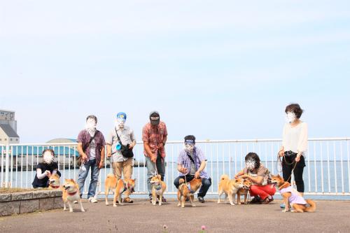 勝納公園記念写真