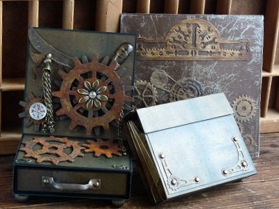 steampunk 「Card Case & Easel Box Card & Book card 」