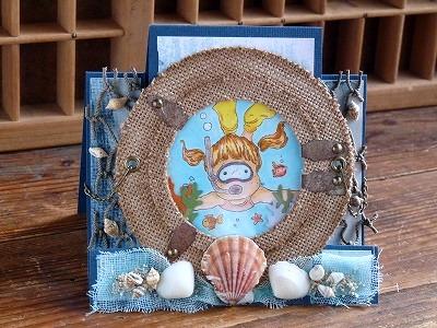 サマーカード「海中」