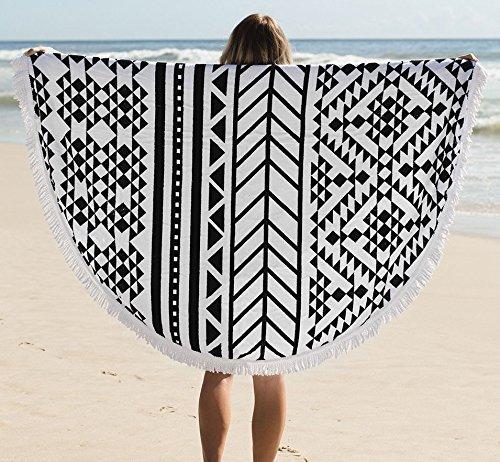 今年の夏のビーチトレンド大注目となる TheBeachPeople RoundTowel ラウンドタオル 水着 オシャレ