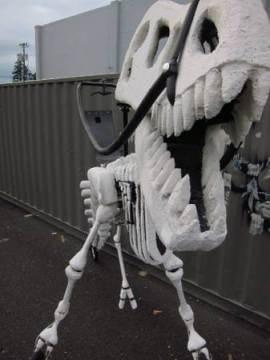 恐竜のバイク05
