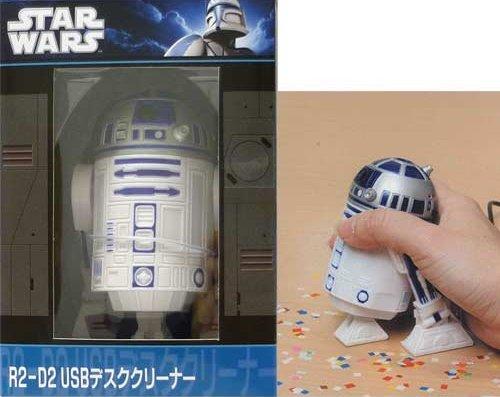 R2-D2のUSBデスクトップの掃除機03