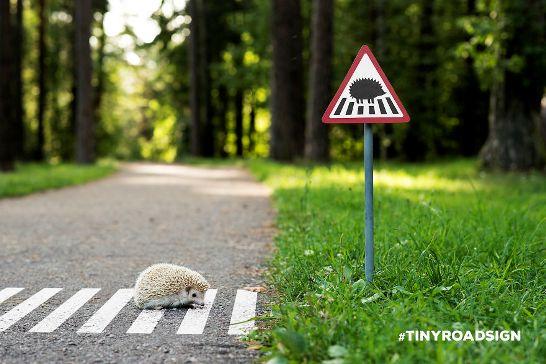 小型道路標識