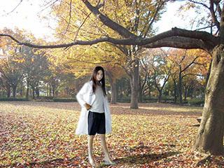 うちの近くの公園に佇む武井咲