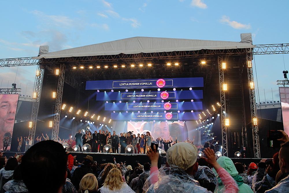 Live Aid Olympic Stadium Helsinki 06.06.2015