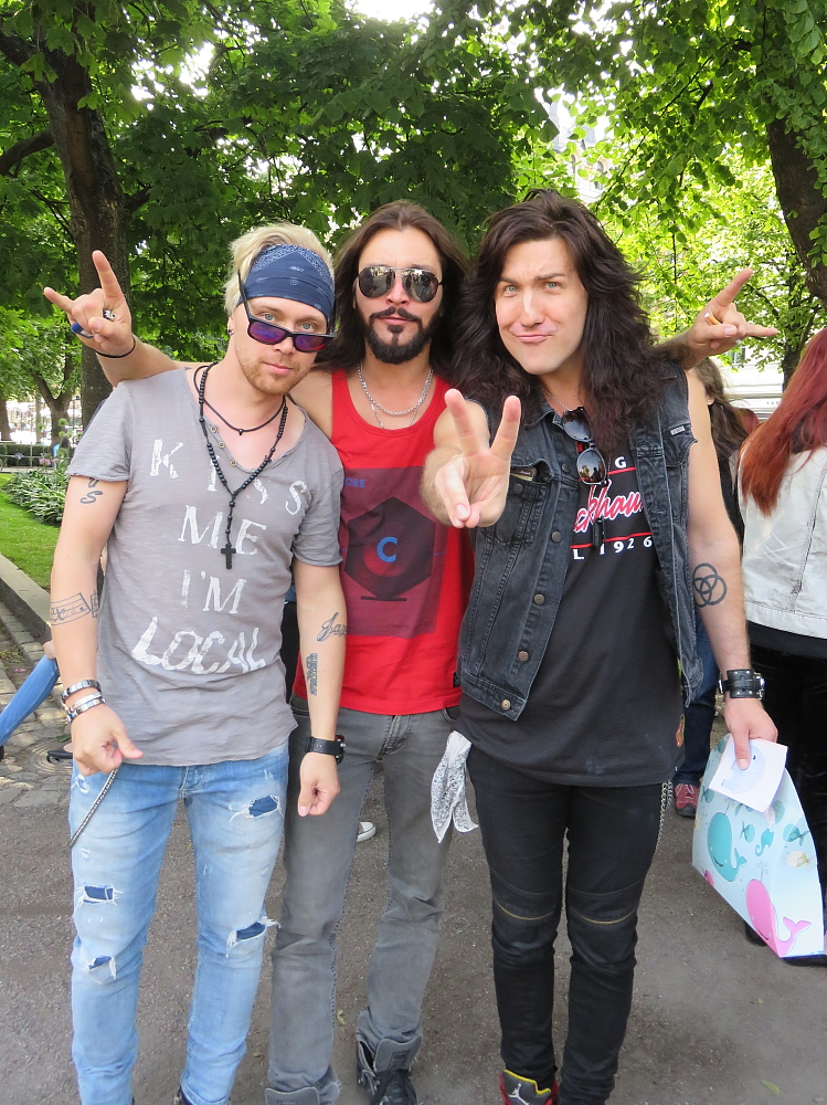 Reckless Love Espan Lava Helsinki 16.07.2015