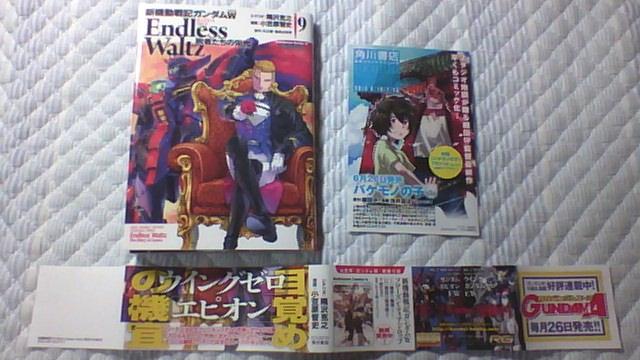 ガンダムW Endless Waltz 9巻