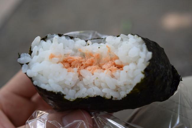 高尾山 鮭おにぎり
